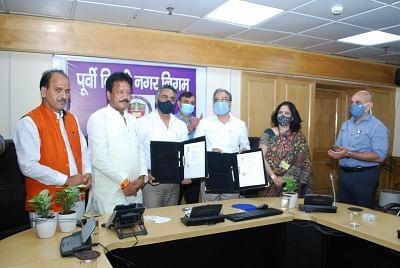 सौर ऊर्जा परियोजनाओं के लिए पूर्वी दिल्ली नगर निगम ने भारतीय सौर ऊर्जा निगम लिमिटेड के साथ किया हस्ताक्षर