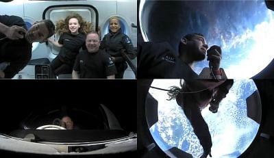 इंस्पिरेशन 4 : ऑल-सिविलियन टीम स्वस्थ और कक्षा में खुश, स्पेसएक्स ने कहा