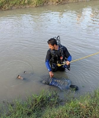 गणेश प्रतिमा विसर्जन के दौरान नहर में डूबा 18 वर्षीय लड़का