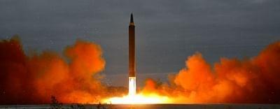 नॉर्थ कोरिया ने 800 किमी की रेंज वाली रेलवे-बॉर्न मिसाइल का परीक्षण किया
