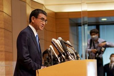जापान के टीकाकरण मंत्री ने की पीएम के उत्तराधिकारी की उम्मीदवारी की घोषणा
