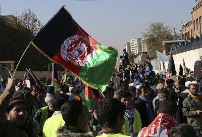 अफगानों ने मसूद के समर्थन में कहा, डेथ टू पाकिस्तान, लॉन्ग लीव अफगानिस्तान