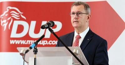 डीयूपी नेता ने आयरलैंड के बंदरगाहों पर नए चेक के खिलाफ चेतावनी दी