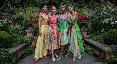 रूपा पेम्माराजू न्यूयॉर्क फैशन वीक में इंडियन समर लेकर आईं