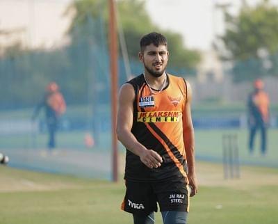 आईपीएल 2021 : उमरान मलिक नटराजन के कोविड रिप्लेसमेंट के तौर पर हैदराबाद से जुड़े