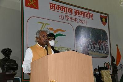 भारतीय सेना में बिहार रेजिमेंट का गौरवपूर्ण इतिहास रहा है : फागू चौहान