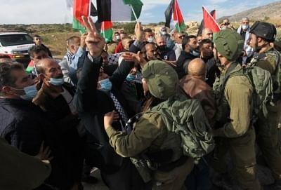 फिलीस्तीनी गुटों ने डे ऑफ रेज का किया आहवान