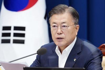 साउथ कोरियाई राष्ट्रपति की अनुमोदन रेटिंग 42.7 प्रतिशत तक बढ़ी