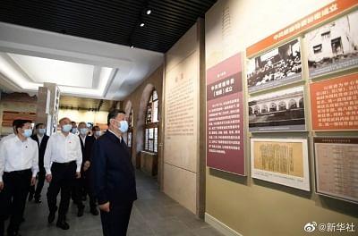 शी चिनफिंग ने सुइते का निरीक्षण दौरा किया