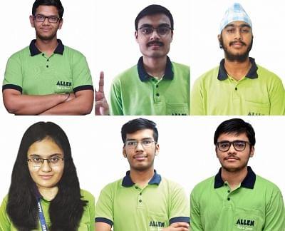 राजस्थान के छह छात्रों ने जेईई मेन्स की परीक्षा में किया टॉप