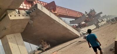 मुंबई में निर्माणाधीन फ्लाईओवर का एक हिस्सा दुर्घटनाग्रस्त, 14 घायल