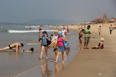 गोवा समुद्र तटों पर वाहनों की सवारी करने वाले पर्यटकों को सरकार की चेतावनी
