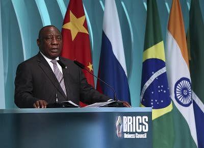 ब्रिक्स से दक्षिण अफ्रीका को फायदा: राष्ट्रपति सिरिल रामफोसा