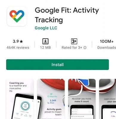 गूगल फिट ऐप को एंड्रॉइड पर 10 करोड़ बार किया गया इंस्टॉल