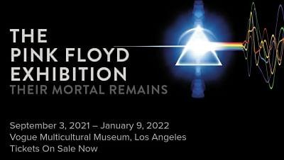 पिंक फ्लॉयड देयर मॉर्टल रेमेन्स प्रदर्शनी टूर हॉलीवुड बुलेवार्ड तक पहुंचा