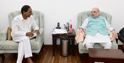 केसीआर ने शाह से तेलंगाना के आईपीएस कैडर की ताकत बढ़ाने का आग्रह किया