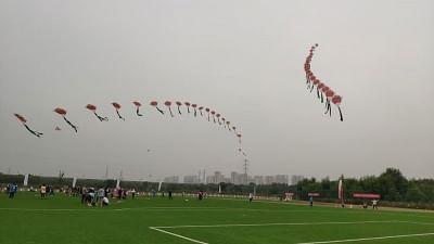 चीन की राजधानी में मनाया गया 9वां अंतर्राष्ट्रीय पतंग महोत्सव