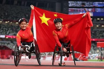 टोक्यो पैरालंपिक खेलों के चीनी दल को चीन सरकार ने बधाई दी