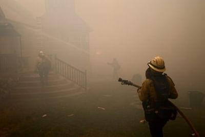 कैलीफोर्निया में काल्डोर आग पर 44 प्रतिशत तक काबू पाया गया