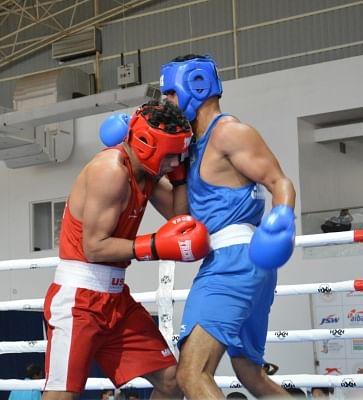शिव थापा ने 5वीं एलीट मेन्स नेशनल बॉक्सिंग चैंपियनशिप में सेमीफाइनल में प्रवेश किया
