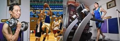 महामारी-रोधी जनक चुंग नानशान चीनी राष्ट्रीय खेलों में सबसे ध्यानाकर्षक खिलाड़ी थे