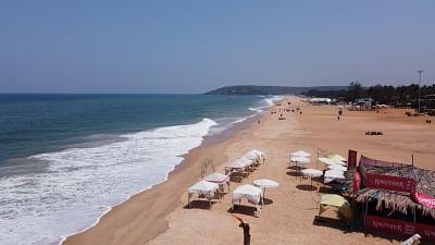 गोवा समुद्र तट के पास झोंपड़ी संचालकों, पर्यटन क्षेत्र को पर्यटकों का इंतजार