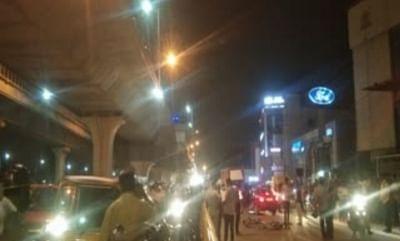 बेंगलुरू : तेज रफ्तार कार की चपेट में आने से दो बाइक सवार की मौत