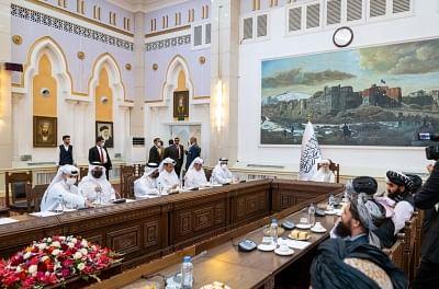 कतर के विदेश मंत्री काबुल में, तालिबान नेतृत्व से की मुलाकात (लीड-1)