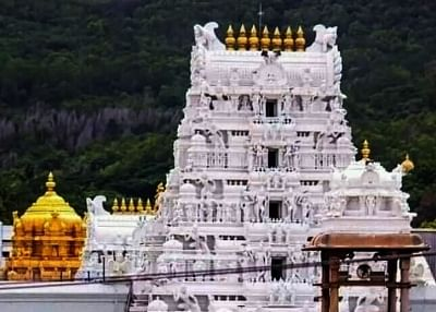 टीटीडी ने आंध्र के मंदिरों में फूलों से बनी अगरबत्ती पेश की