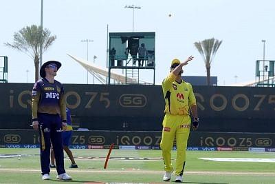 आईपीएल 2021: केकेआर ने टॉस जीतकर किया पहले बल्लेबाजी का फै़सला (लीड-1)