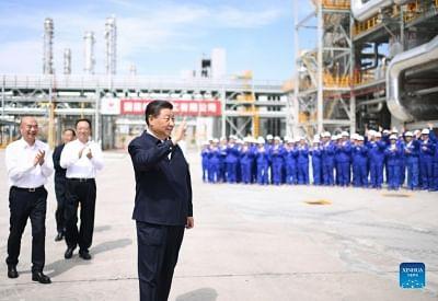 चीनी राष्ट्रपति शी चिनफिंग ने हरित विकास की रणनीति को अभूतपूर्व ऊंचाई पर रखा है