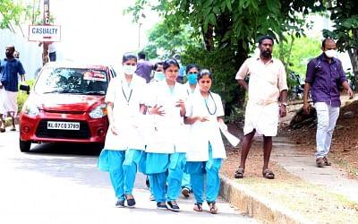 केरल के कोझीकोड में 2 स्वास्थ्य कर्मियों में देखे गए निपाह के लक्षण