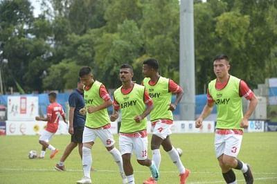 डूरंड कप: आर्मी रेड और एफसी बेंगलुरु यूनिइटेड का क्र्वाटरफाइल मैच कोविड के चलते रद्द