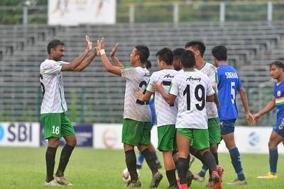 डूरंड कप: आर्मी ग्रीन सुदेवा ने दिल्ली एफसी को हराकर क्वार्टर फाइनल में प्रवेश किया
