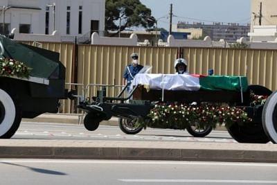 अल्जीरिया में दिवंगत राष्ट्रपति बुटफ्लिका का हुआ अंतिम संस्कार