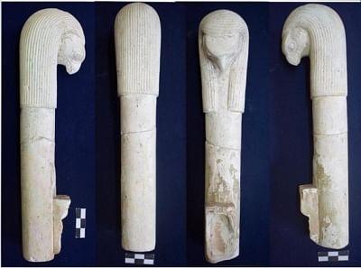 मिस्र में फैरोनिक साइट में प्राचीन अनुष्ठान उपकरण पाए गए