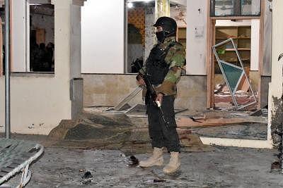 पाकिस्तान में विस्फोट, 4 सुरक्षाकर्मी की मौत
