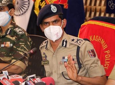 श्रीनगर शहर में 4 आतंकी अब भी सक्रिय : आईजीपी कश्मीर