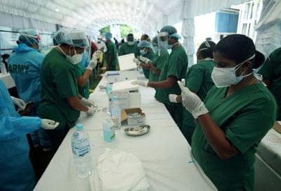 श्रीलंका को सिनोफार्म टीके की 40 लाख खुराक मिली
