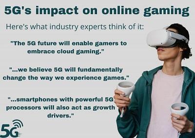 5 जी ऑनलाइन गेमिंग के लिए हाई-स्पीड में लाएगा क्रांति -विशेषज्ञ