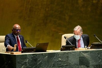 यूएनजीए टीकाकरण की स्थिति के लिए सम्मान प्रणाली जारी रखेगा