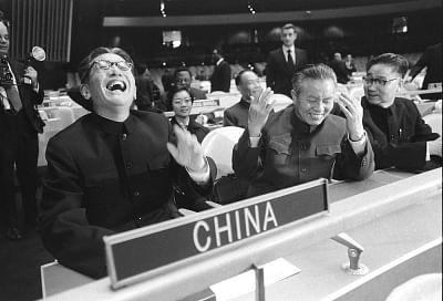 शांति की रक्षा करना और विकास को बढ़ावा देना, 50 वर्षों में विश्व मंच पर चीन का योगदान