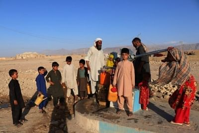 अफगानिस्तान में बच्चों की जान ले रही भुखमरी