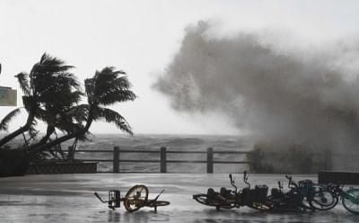 चक्रवाती तूफान कोम्पासु ने चीन के द्वीप प्रांत में दी दस्तक