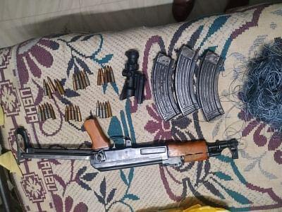 पाक ड्रोन से गिराए गए हथियार जम्मू में किए गए बरामद