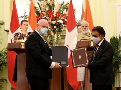 भारत और डेनमार्क ने 4 समझौतों पर हस्ताक्षर किए, हरित रणनीतिक साझेदारी पर बढ़ाएंगे सहयोग