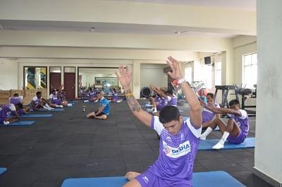 भारतीय पुरुष हॉकी टीम ने साई में अभ्यास करना शुरू किया