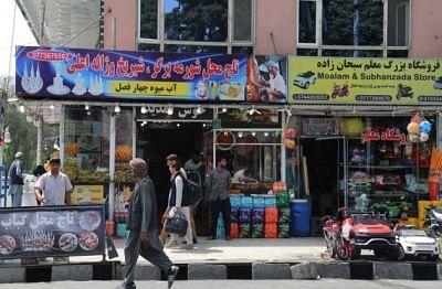 काबुल के बुश मार्केट का नाम बदलकर मुजाहिदीन बाजार रखा गया