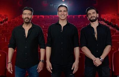 अक्षय, अजय, रणवीर, कैटरीना अभिनीत फिल्म सूर्यवंशी 5 नवंबर को होगी रिलीज