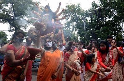 बंगाल में इस साल दुर्गा पूजा के दौरान हो सकती है बारिश